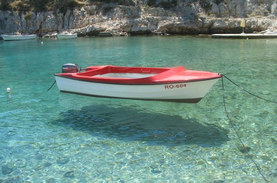 Boat on Solta, Croatia