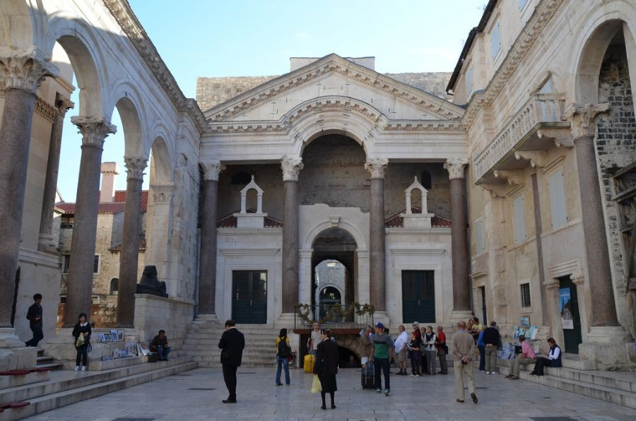 Heart of Diocletians Palace (Split, Croatia)